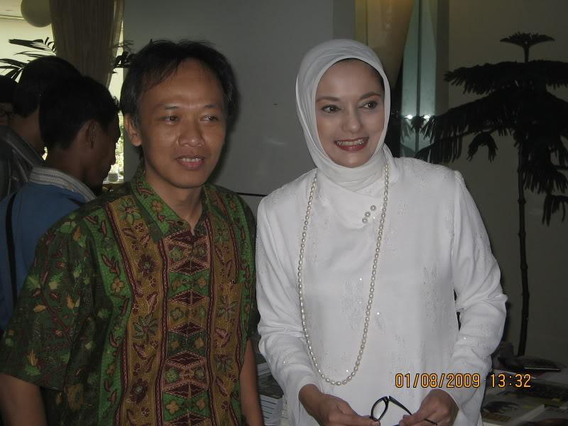 Pepih dan Marissa Haque
