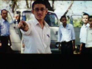 Foto profil biodata Gaza Zubizareta pemeran Alif di Film Negeri 5 Menara