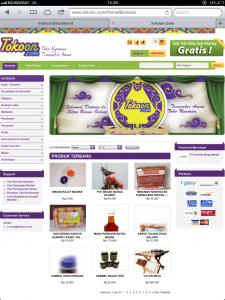 Portal E-commerce TokoOn.com