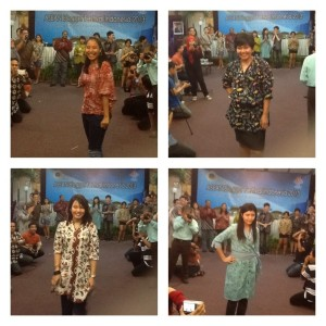 Fashion Show Blogger Batik