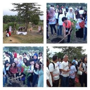 Blogger Tanam 1000 Pohon