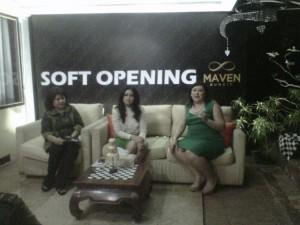 Tiga Srikandi Maven Hotel Buncit (Foto: Syaifuddin)