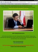 Penampakan situs palsu Indosat