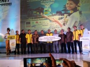 Launching Jaringan UMTS 900 Indosat (foto: Syaifuddin)