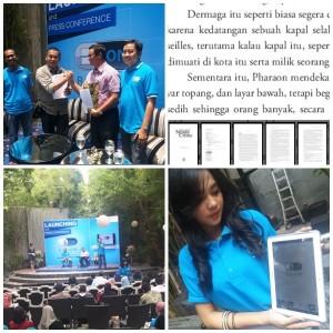 Peluncuran BukuOn di Jakarta (foto: Syaifuddin)