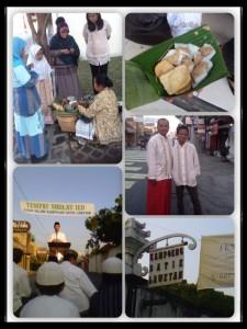 Iedul Fitri di Laweyan, Solo 2012 (foto: koleksi pribadi)