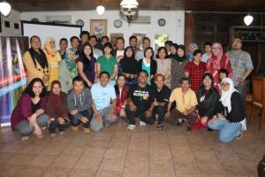 Blogger BRID dan BNN, sinergi anti narkoba (foto: Hazmi Srondol)