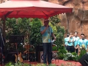 Dirut Pembangunan Jaya Speech (foto: Syaifuddin)