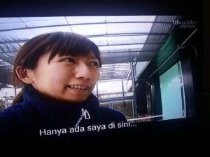 Kenzuka, dokter hewan akuarium (screenshot by Syaifuddin)