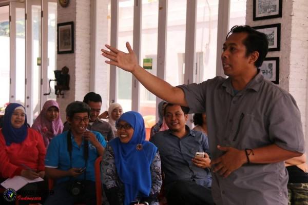 Kang Arul, Orator dan stand upper Handal (foto: BRID)