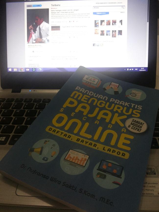 Buku Panduan Mengurus Pajak Secara Online (foto: koleksi Pribadi)