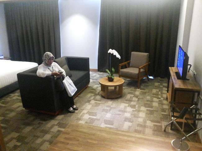 Suite Room Batiqa Hotel (foto koleksi pribadi)