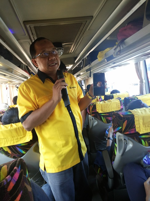 Joko Riswadi Jelaskan Performa Jaringan Indosat pasca modernisasi Jaringan (foto koleksi pribadi)