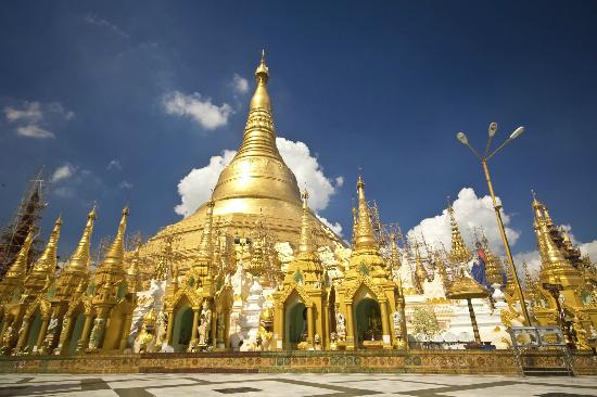 Pagoda Shwedagon, Myanmar (foto TripAdvisor)