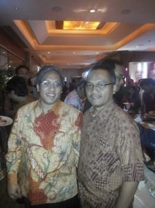 Penulis bersama Suharyo Sumowidagdo (foto dokpri)
