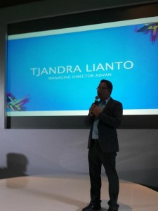 Tjandra Lianto on Stage (foto dokpri)