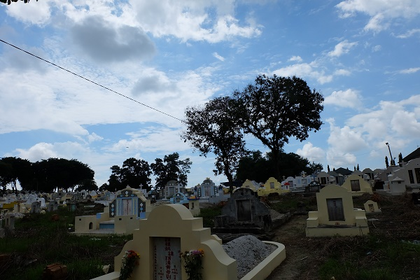 Pekuburan Sentosa di Pangkalpinang (foto dokpri)