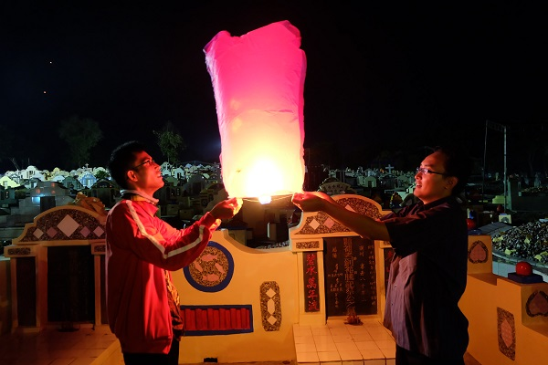 Lampion, Lambang Harapan di Ceng Beng (foto dokpri)