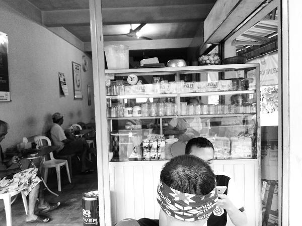 Sederhana, Penampakan Kedai Akhew (foto dokpri)