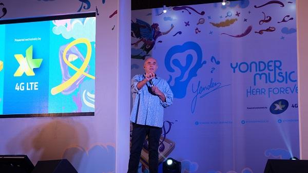 Adam Kindron, CEO Yonder Music (foto koleksi pribadi)