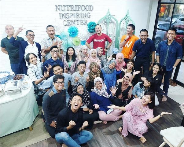 Bukber NIC dengan Komunitas (foto @Nutrifood)