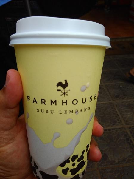 Segelar susu segar khas Farmhouse (foto dokrpi)